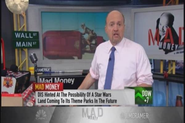 Cramer: Disney's not a trade, it's a keepsake