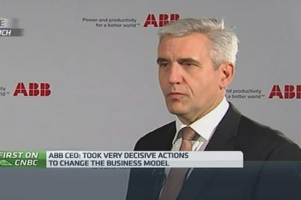 We'll 'consider' M&A in 2015: ABB CEO