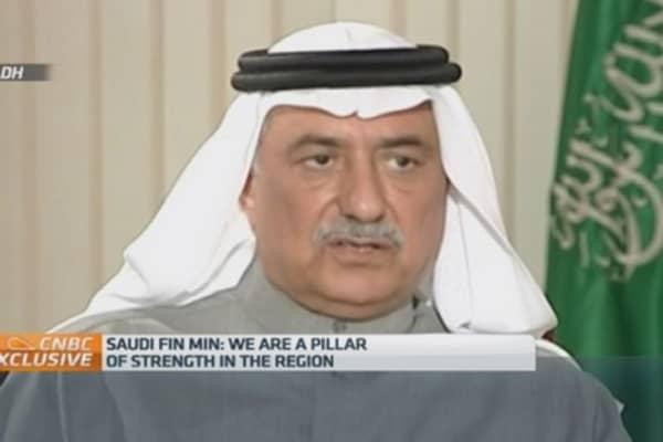 Saudi Arabia a 'pillar of stability': Fin Min