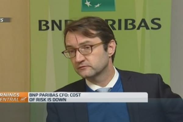 Our balance sheet is solid: BNP Paribas CFO