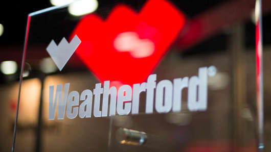 Weatherford International signage