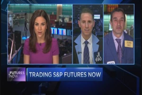 Trading the S&P ahead of jobs