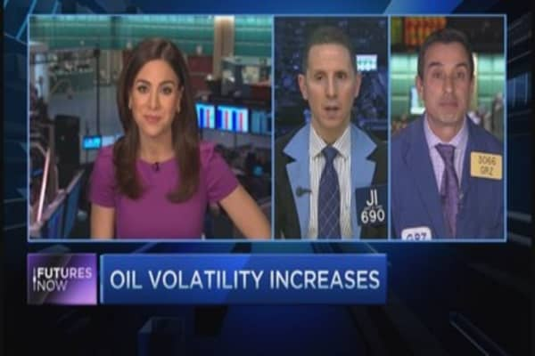 Extreme oil volatility part of ¿bottoming process¿: Trader