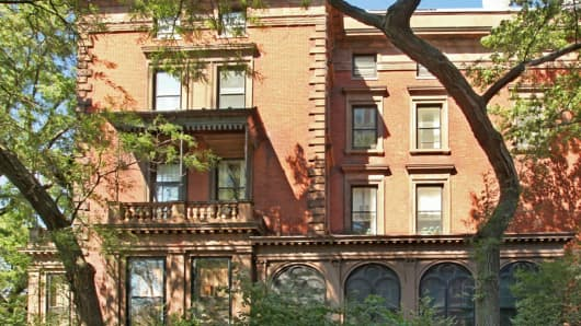 This four-floor Brooklyn townhouse is on the market for $40 million.
