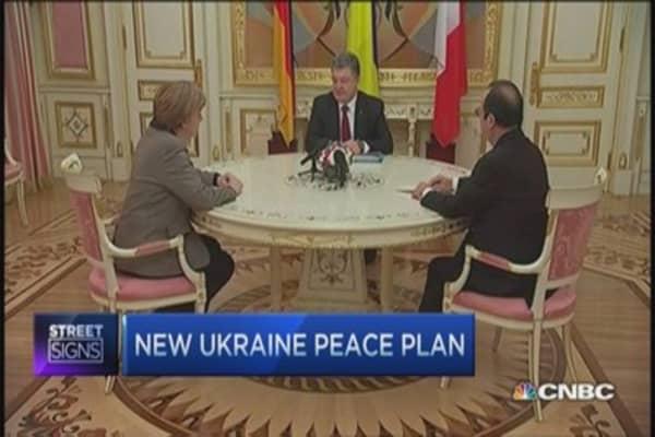 New Ukraine peace plan