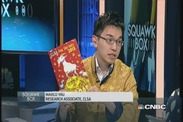 CLSA dishes out feng shui trading strategies