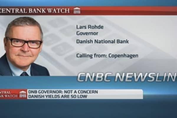 Denmark's central bank: We'll defend euro peg