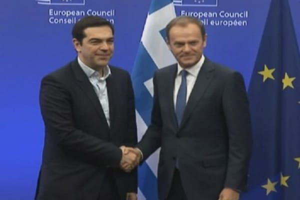 Greek's finance minister's European tour...in 1 minute