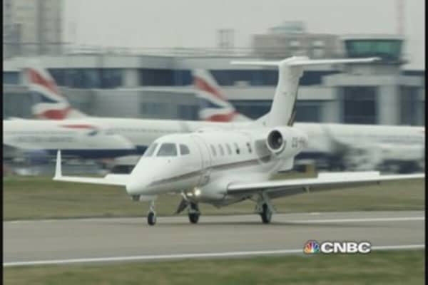 Why low oil is good for NetJets