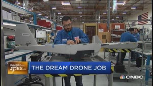 Landing a dream drone job