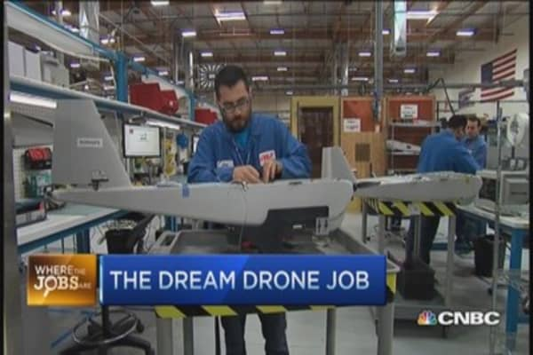 Landing a dream drone job
