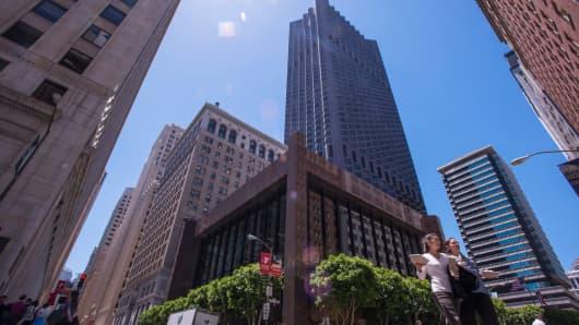 Office buildings in San Francisco