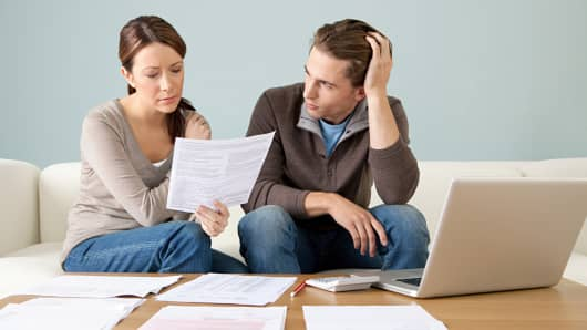 Couple bills stress