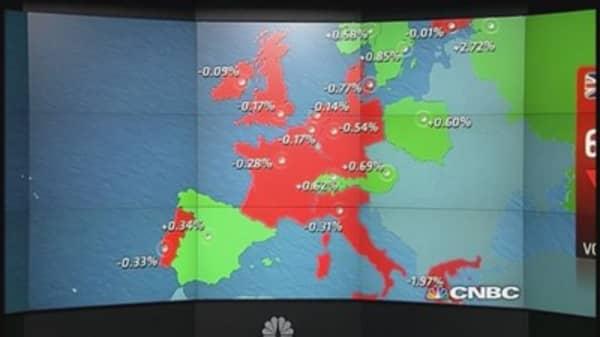 Europe closes higher after US payrolls, Greek saga drags on