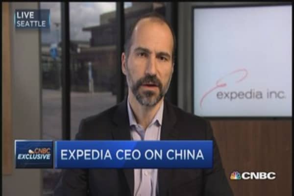 Expedia CEO wants to be in the 'wild, wild East' (China)
