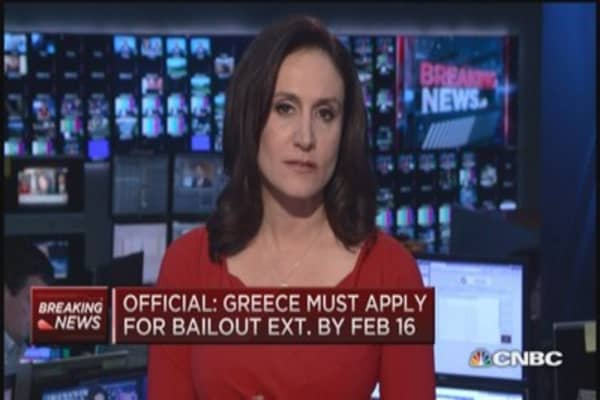 Official: New deadline for Greece