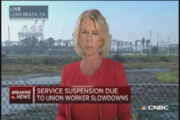 West Coast ports suspend weekend work