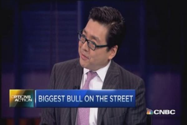 Why stocks are going up: Tom Lee