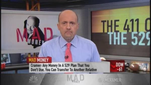 Cramer's 411 on the 529 plan