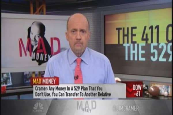 Cramer's 411 on the 529 plan