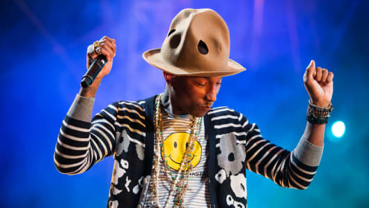 Singer Pharrell Williams