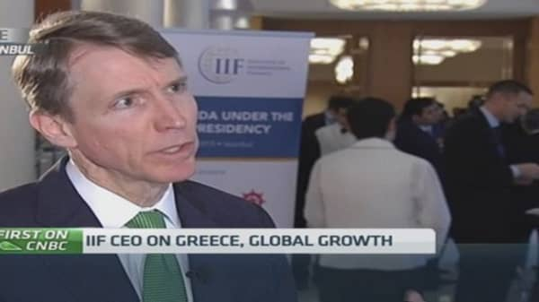 'Cooler heads' needed to solve Greek issues: IIF