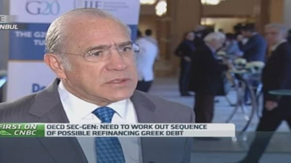 No chance of a 'grexit': OECD chief