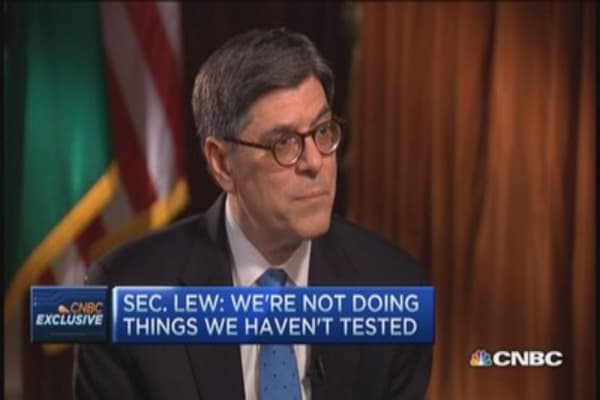 Lew: US economy turned a corner