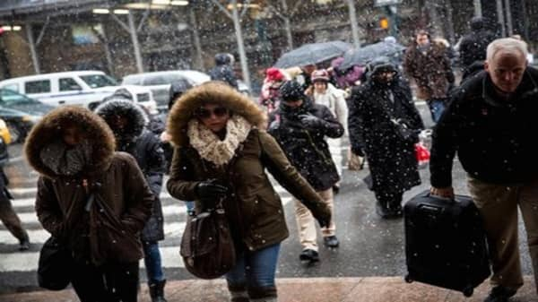 Winter Storm Marcus slams Northeast