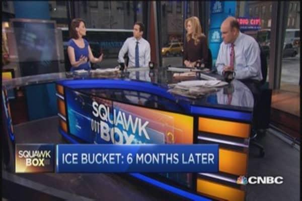Ice bucket's $115 million challenge