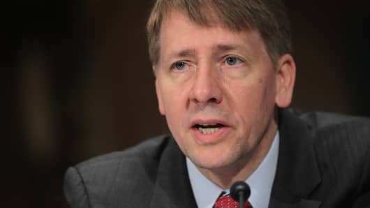 Consumer Financial Protection Bureau Director Richard Cordray.