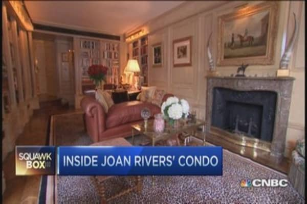 Tour Joan River's $28M penthouse