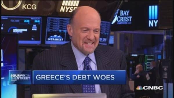 Cramer: Good news wanted overseas