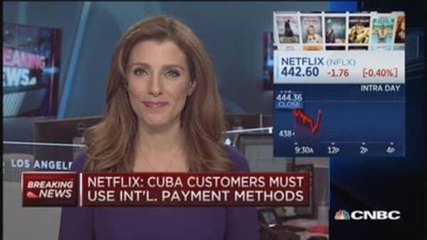 Netflix launching in Cuba