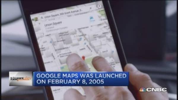 Google Maps celebrates 10 years