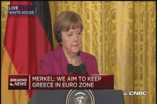 Merkel: Awaiting to see what Greece puts on table