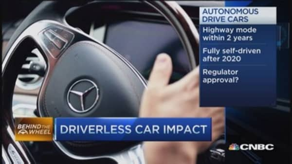 Driverless car technology coming fast