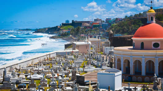 San Juan Cemetery Puerto Rico