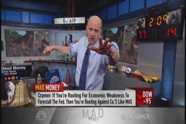 Cramer: Be ready to buy, not sell