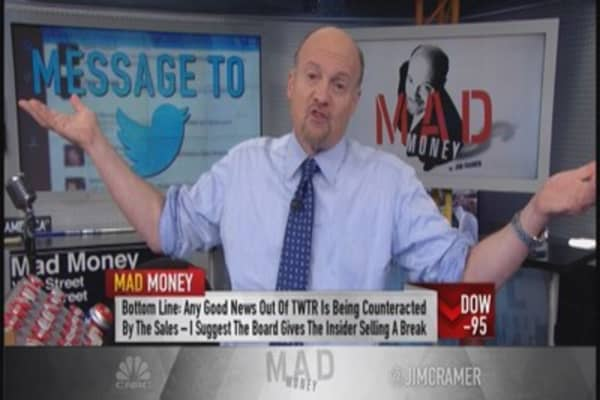 Cramer: Show some forbearance on this stock