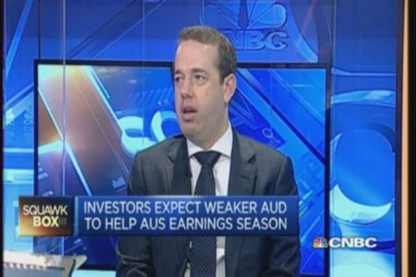 Westpac tips Aussie dollar at 75 US cents by Q1