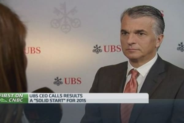 Dividend policy 'sustainable': UBS boss