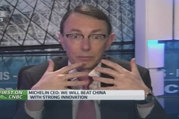 We're combatting cheap Chinese tires: Michelin
