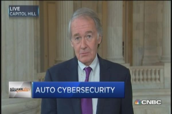 Markey's car hack concern