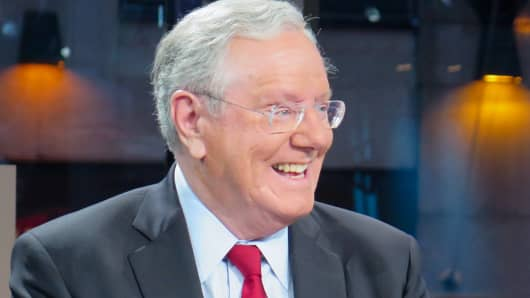 Steve Forbes, Forbes Media Chairman & Editor-In-Chief.