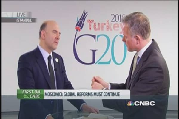 Moscovici: A 'Grexit' must be avoided
