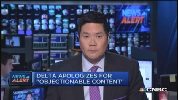 Delta Facebook page hacked