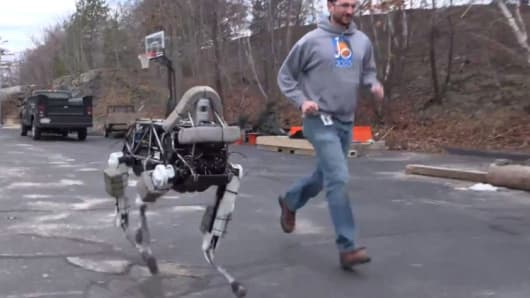 Here Spot See Boston Dynamics New Robot Dog Run And Climb