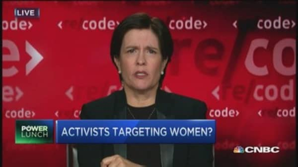 Women CEOs unfairly targeted?
