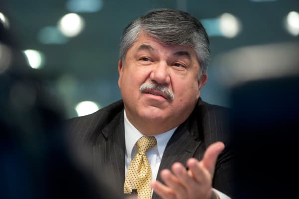 Richard Trumka, president of the AFL-CIO